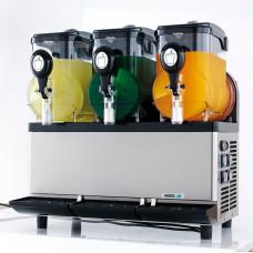 Аппарат для замороженных напитков (гранитор), 3 ванны по 5л, электронный термостат
