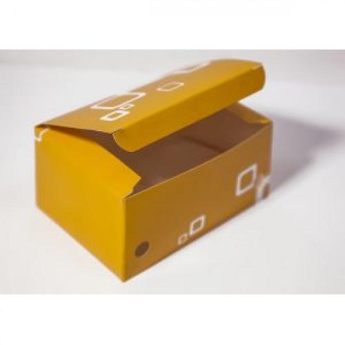 Коробка для наггетсов 140х98х70мм бумага, 500шт