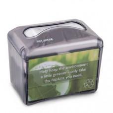 Диспенсер для салфеток на 200шт., настольный, пластик, черный перламутр