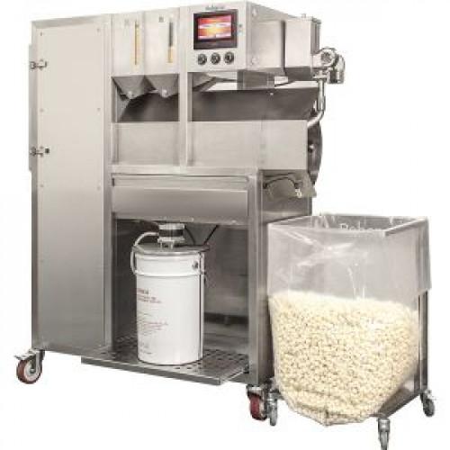 Попкорн-аппарат автомат., сенс.упр., сист. подачи соли/масла, 2 доз.