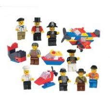 Игрушка-лего МИНИ ФИГУРКИ пластик, 72шт (3 коллекции по 24шт)