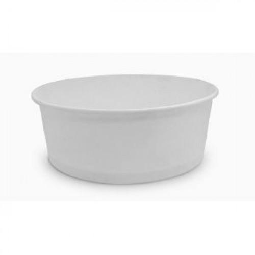 Контейнер для салата 500мл бумага белый, 500шт