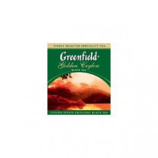 Чай черный пакетированный Greenfield Голден Цейлон, 1000шт (10х100пак)
