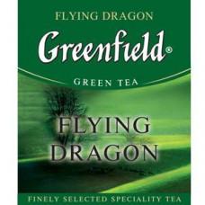 Чай зеленый пакетированный Greenfield Флаинг Драгон, 1000шт (10х100пак)