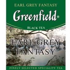 Чай черный пакетированный Greenfield Эрл Грей, 1000шт (10х100пак)