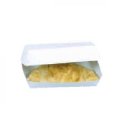 Коробка для хот-дога 230х130х65мм картон белый, 300шт