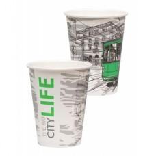 Стакан для горячих напитков Big City Life 300мл бумага