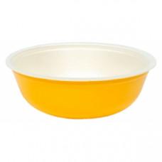 Контейнер для супа 370мл вспененный полистирол желтый