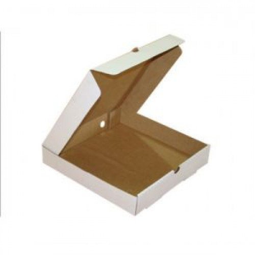 Коробка для пиццы 440х436х45мм картон белый