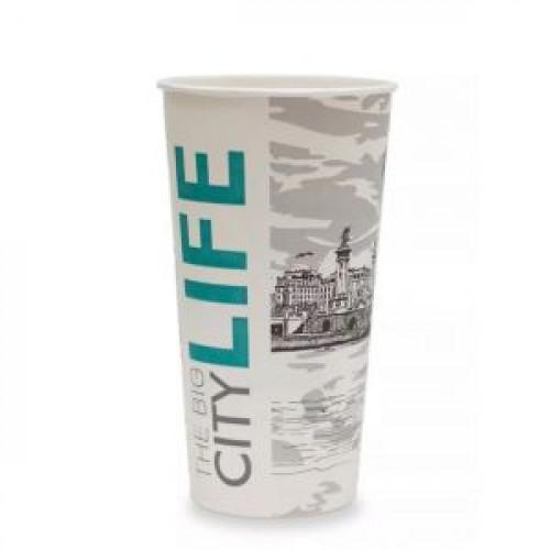 Стакан для горячих напитков Big City Life 500мл бумага