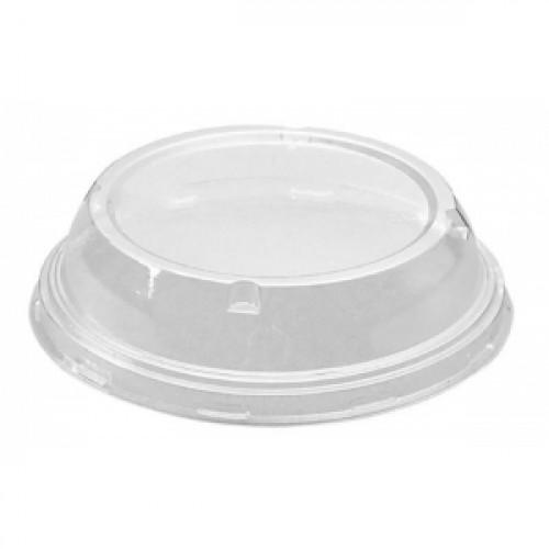 Крышка для контейнера D 150мм высокая пластик прозрачная