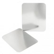 Крышка для прямоугольного контейнера 490мл алюминий