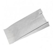 Пакет 205х90х40мм плоское дно бумага белый