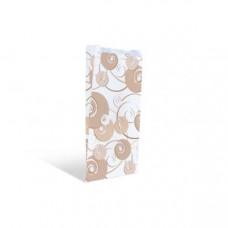 Пакет 300х170х70мм плоское дно бумага с дизайном