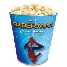 Жестяное ведро для попкорна Человек-паук: Возвращение домой, 130 унций/3.80л.