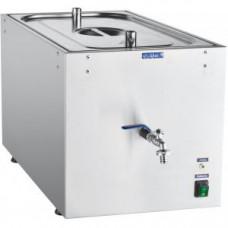 Водонагреватель-кипятильник проточный, 11л, 100л/ч, нерж.сталь, подключение к хол.воде