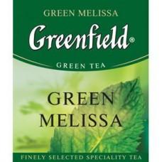 Чай зеленый пакетированный Greenfield Грин Мелиса