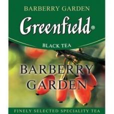 Чай черный пакетированный Greenfield Барбери Гаден