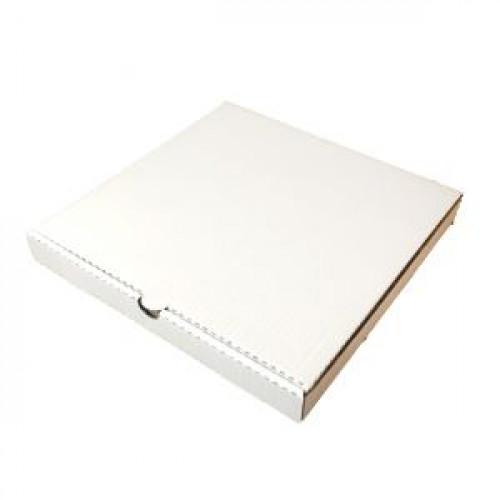 Коробка для пиццы 360х360х40мм картон белый