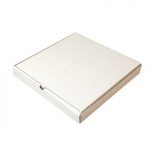 Коробка для пиццы 400х400х40мм картон белый