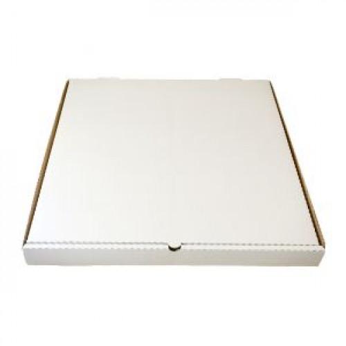 Коробка для пиццы 450х450х40мм картон белый