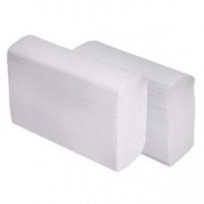 Полотенца бумажные Z-сложение 2-слойные 22х22,5см целлюлоза белые