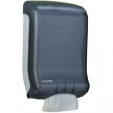 Диспенсер для лист.полотенец, настенный, 475x298x159мм, пластик, черный