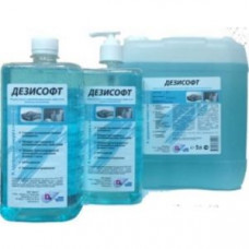 Мыло жидкое с дезинфицирующим эффектом ДЕЗИСОФТ 1л.