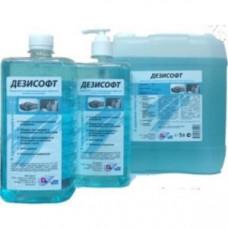 Мыло жидкое с дезинфицирующим эффектом с дозатором ДЕЗИСОФТ 1л