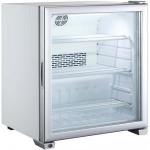Шкаф холодильный для напитков (минибар), 99л, 1 дверь стекло, 3 полки, ножки, 0/+10С, дин.охл.
