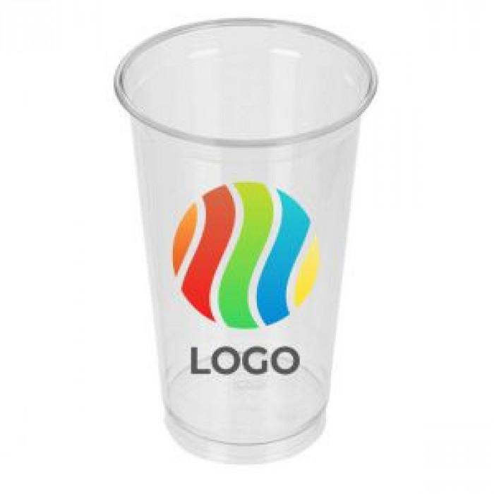 Стаканы пластиковые с логотипом