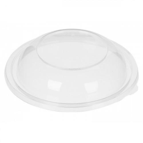 Крышка купольная для круглого контейнера 190мм ПЭТ прозрачный