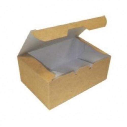 Коробка универсальная 350мл бумага крафт