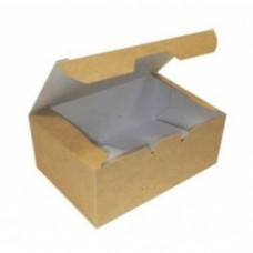 Коробка универсальная 900мл бумага крафт