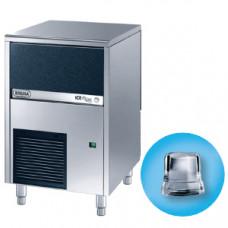 Льдогенератор для кускового льда, 42кг/сут, бункер 16.0кг, вод.охлаждение, корпус нерж.сталь, форма кубик A
