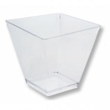 Креманка РОМБ 95мл пластик прозрачный