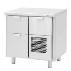 Модуль барный холодильный, 860х550х900мм, без борта, 3 выд.секции, ножки 140мм, +5/+15С, нерж.сталь, агрегат справа