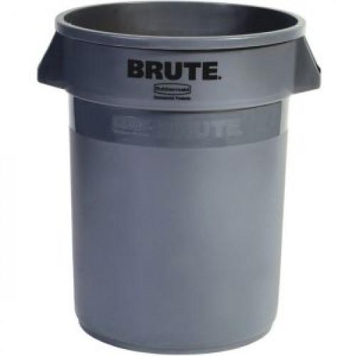 Контейнер BRUTE D 55,9см h 69,2см 121,1л, полиэтилен серый