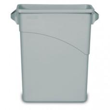 Контейнер для мусора SLIM JIM 60л с ручками, полиэти