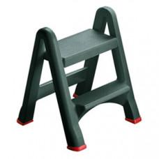 Лестница раскладная L 48,6см w 17,2см h 63см, полипропилен серый
