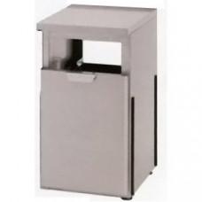 Модуль барный нейтральный для мусора, 400х550х850мм, без борта, 1 ящик выдв., ножки 90мм, нерж.сталь