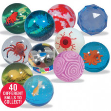 Игрушка-мячик Oddballs пластик полупрозрачный
