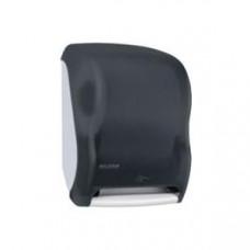 Диспенсер для рул. полотенец настенный сенсорный 419х298х235мм пластик, черный