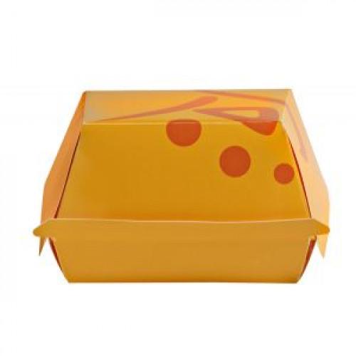 Коробка для гамбургера 116x111x70мм WHIZZ бумага, 600шт
