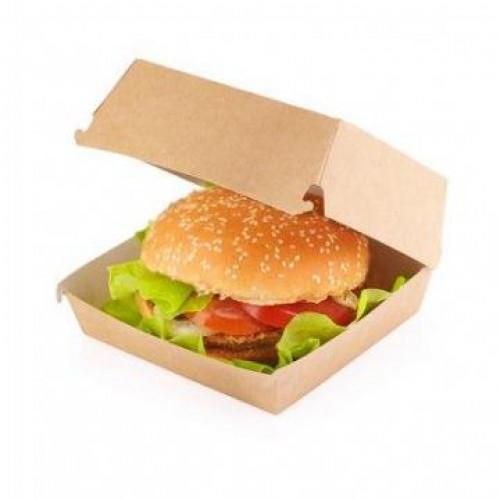 Коробка для гамбургера 100x115x60мм Крафт