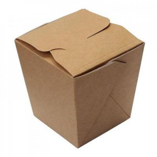 Коробка для азиатской кухни 560мл картон крафт, 500шт