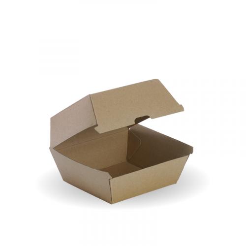 Коробка для гамбургера 120x120x70мм Крафт