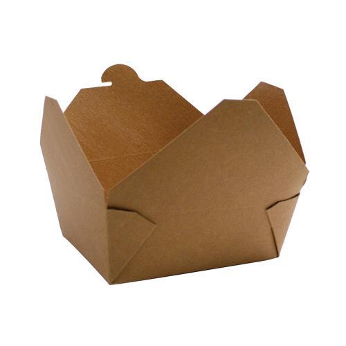 Коробка универсальная 600мл бумага крафт двухсторонний