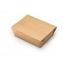 Ланч-бокс универсальный 600 мл бумага крафт