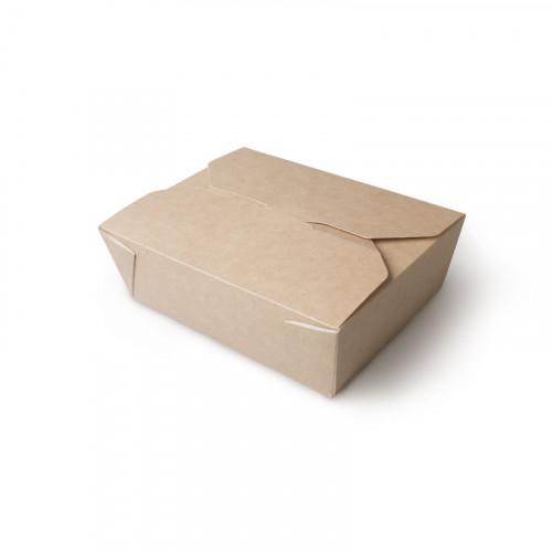 Коробка универсальная 600 мл бумага крафт